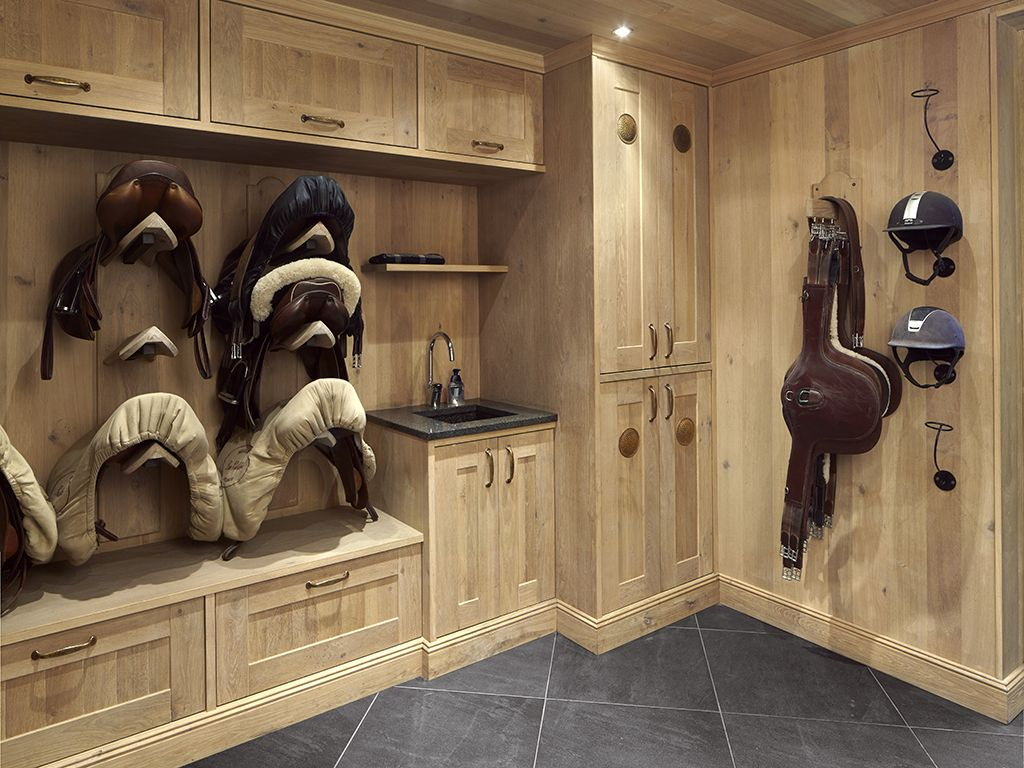 Tack Room Design Ideas Part - 50: Saddle Room U2014 Quality And Durability - SeBo Interior U0026 Equipage. Totally  Love This Tack Room!