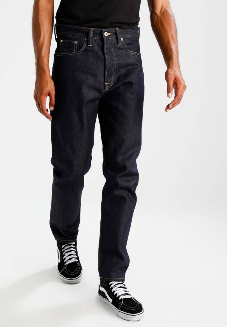 Ed45 loose tapered relaxed fit jeans unwashed