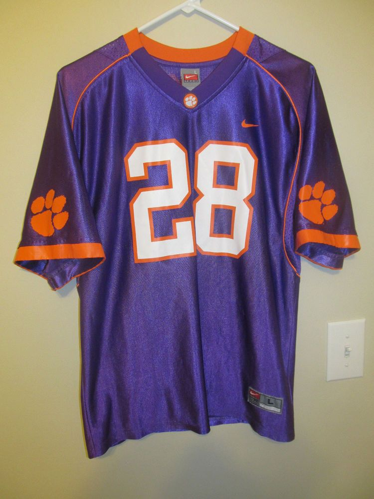 Clemson tigers football jersey nike youth large nike