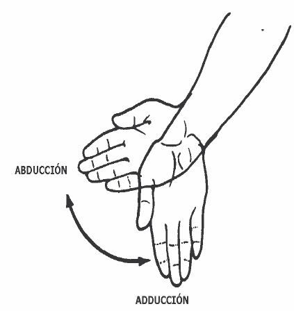 Abducción y Adducción de la Muñeca | AUXILIAR DE ENFERMERÍA ...