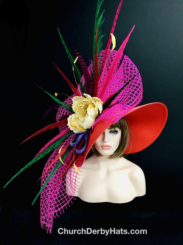 Kentucky Derby Hat By Churchderbyhats Com Mens Kentucky Derby Hats Kentucky Derby Hat Kentucky Derby Hats