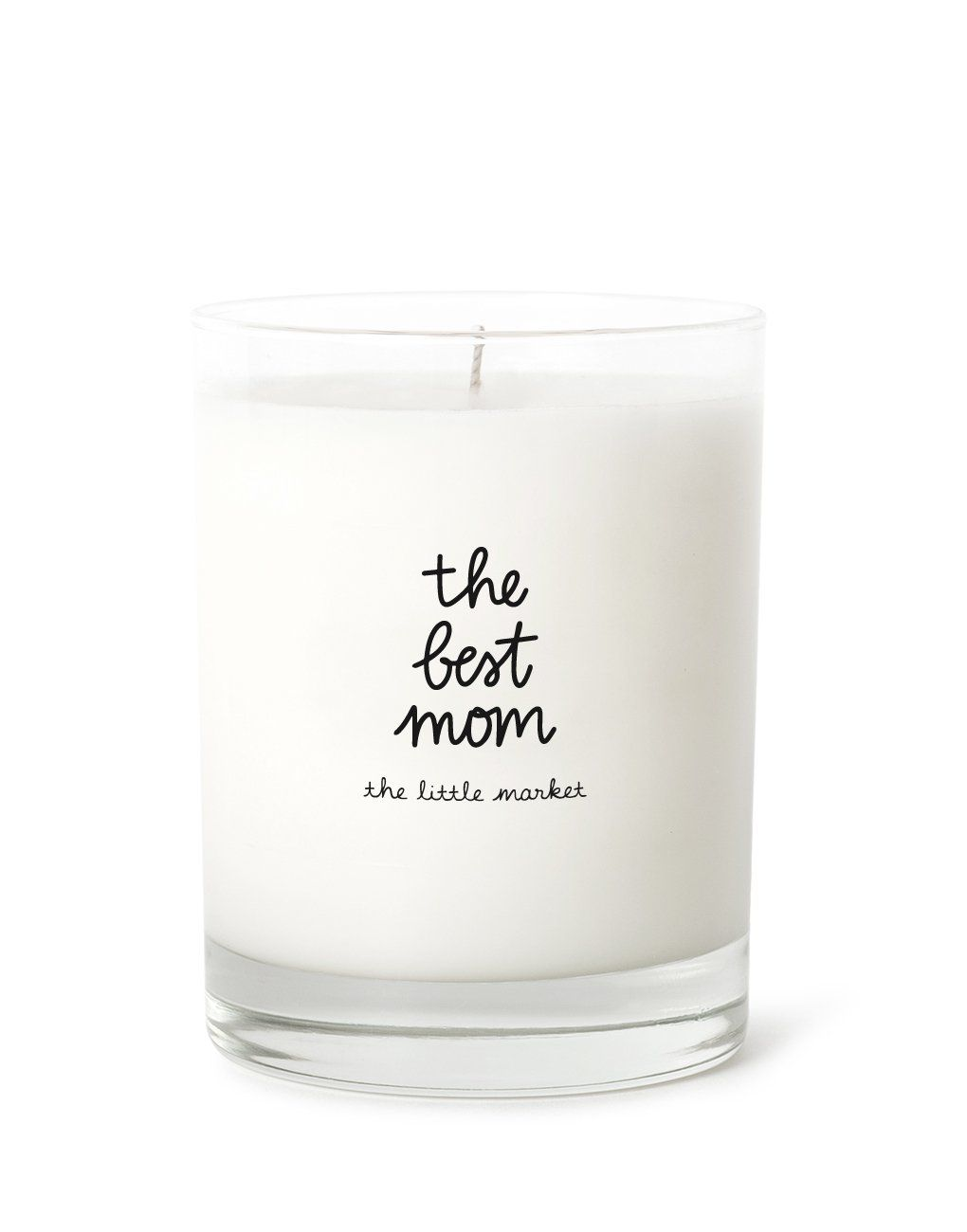 Soy wax pillar candle strong woman quote