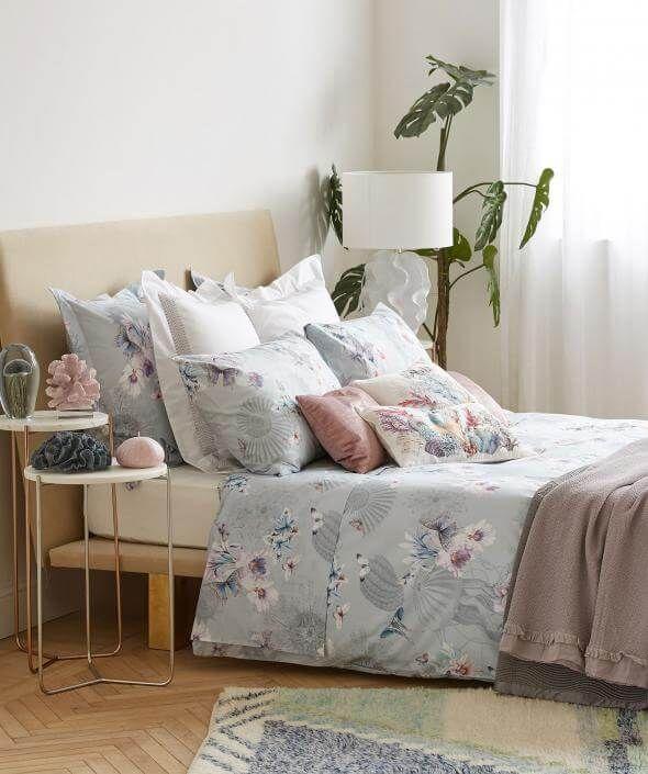 Schöne Bettwäsche So träumen wir wie eine Königin Schöne - wandfarbe im schlafzimmer erholsam schlafen