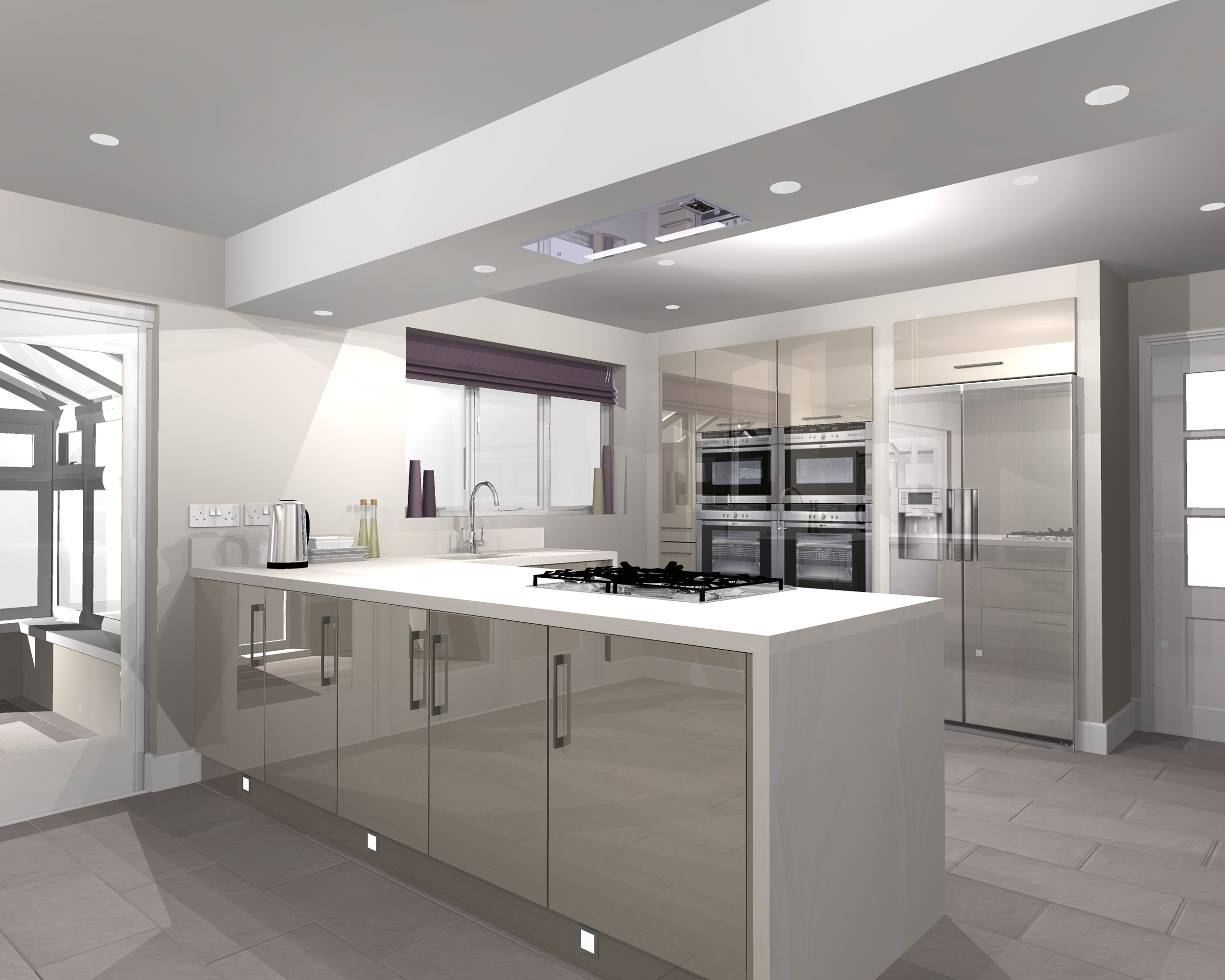 Kitchen Design Software B Andq New Kitchen Design Using Virtual Worlds Software Kitchen