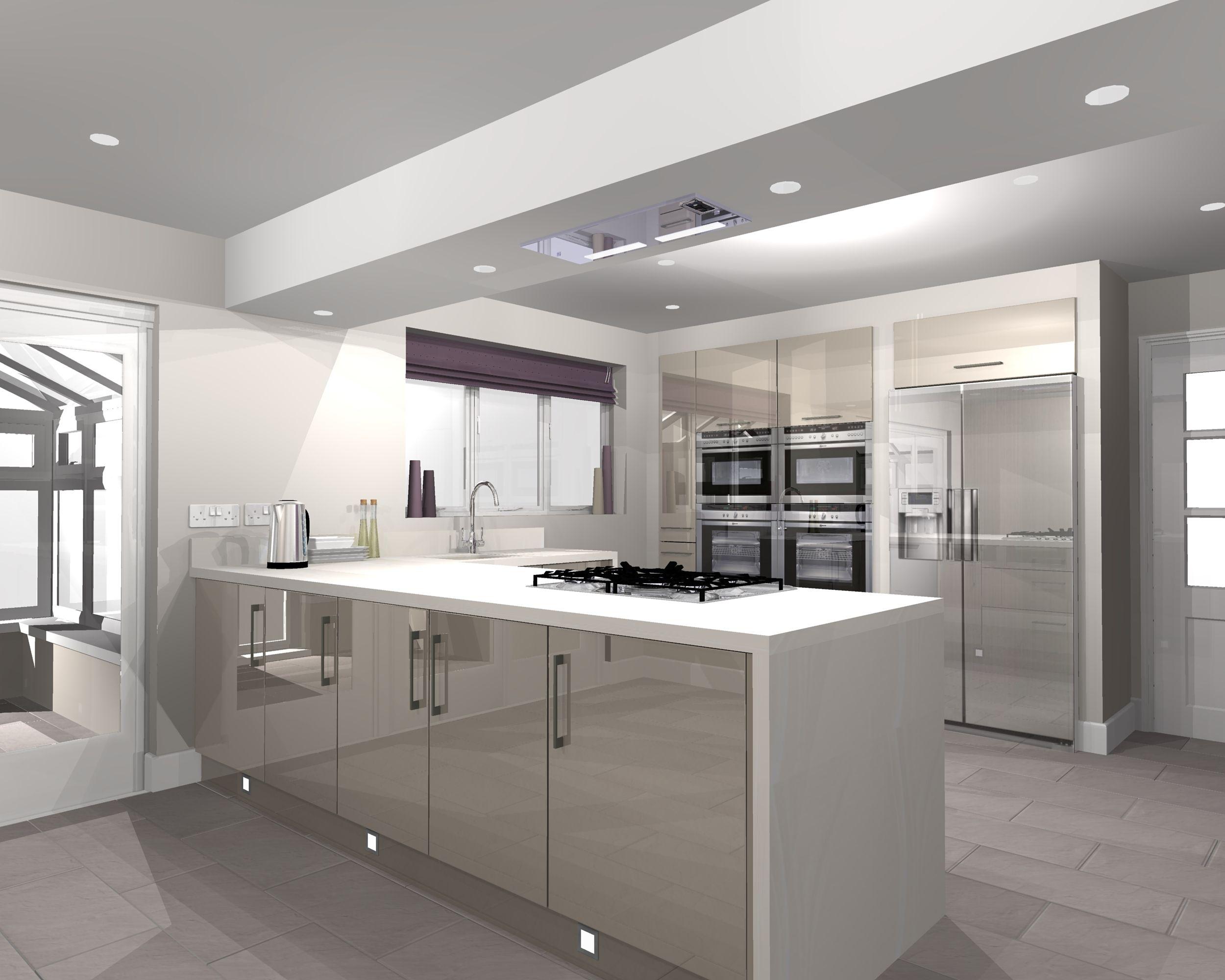 Kitchen And Bathroom Design Software New Kitchen Design Using Virtual Worlds Software  Garagem