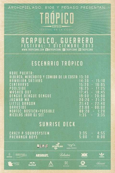 Tropico | Flyer