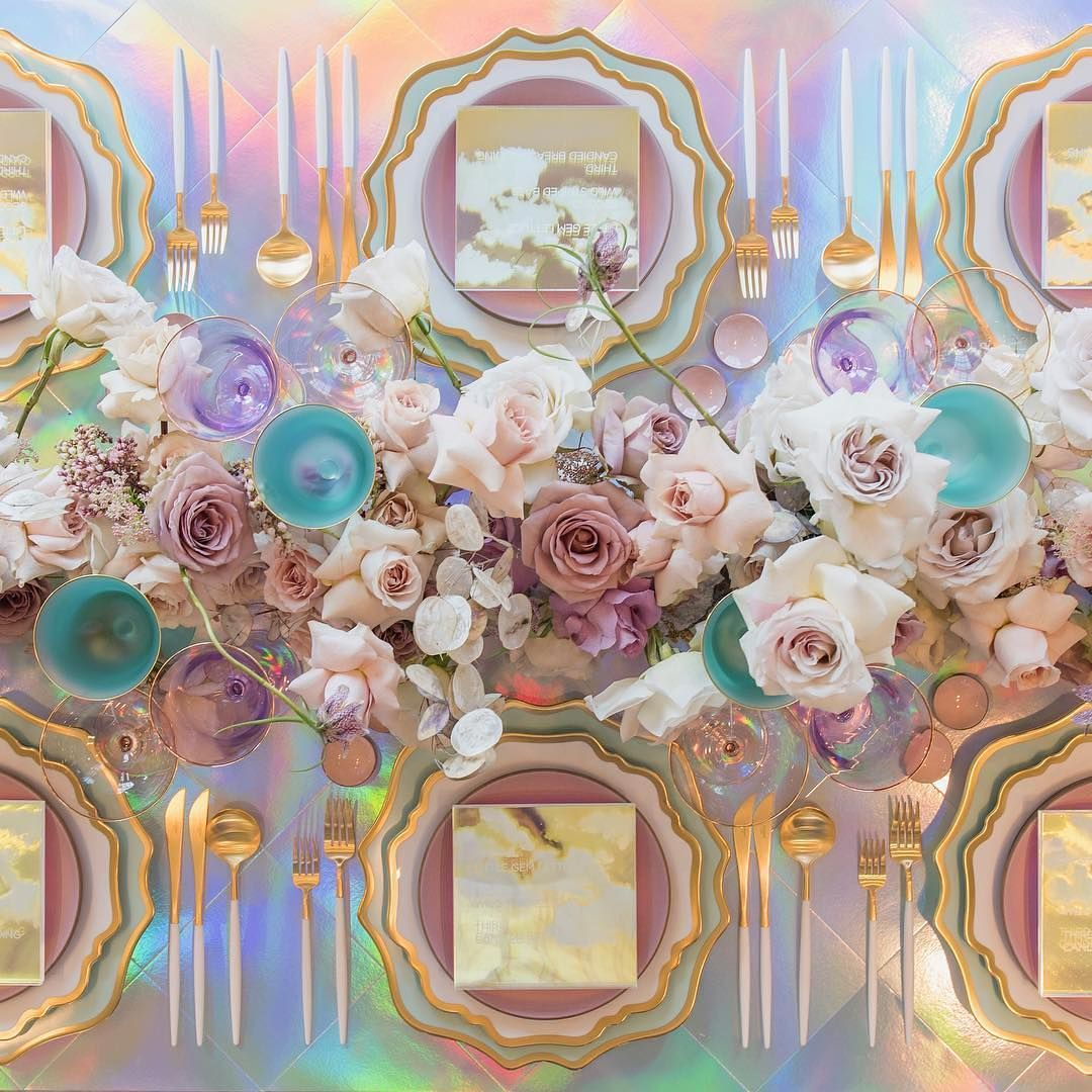 "WedLuxe Media On Instagram: ""Calling All Lovers Of Pastels"