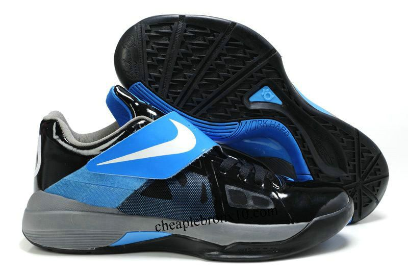 Black · Kevin Durant KD IV (4) Black/White-Varsity Royal