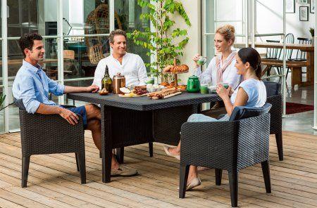 Allibert Zestaw Mebli Columbia 5 Szary X2f Grafit Mall Pl 1290 Zl Outdoor Furniture Sets Outdoor Furniture Furniture Sets