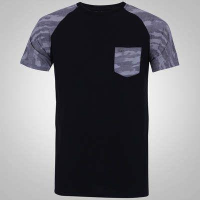 Camiseta Hurley Raglan Aloha - Masculina  6641a8029b8