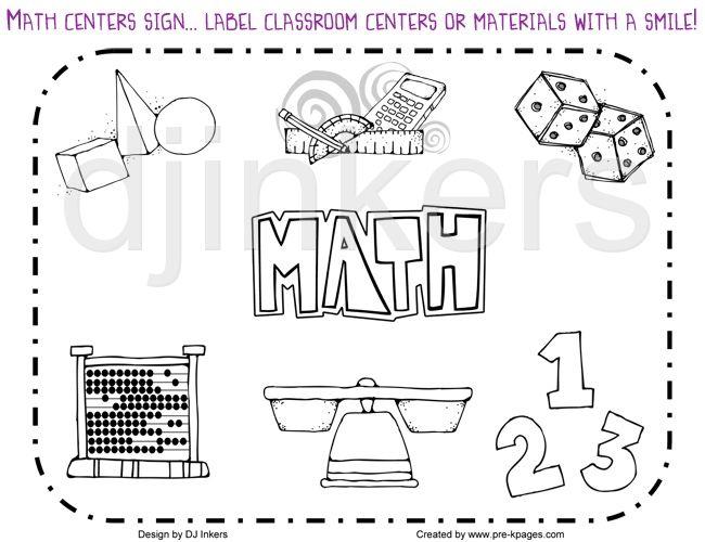 Math Border Clipart Black And White Math Border Clip Art Math