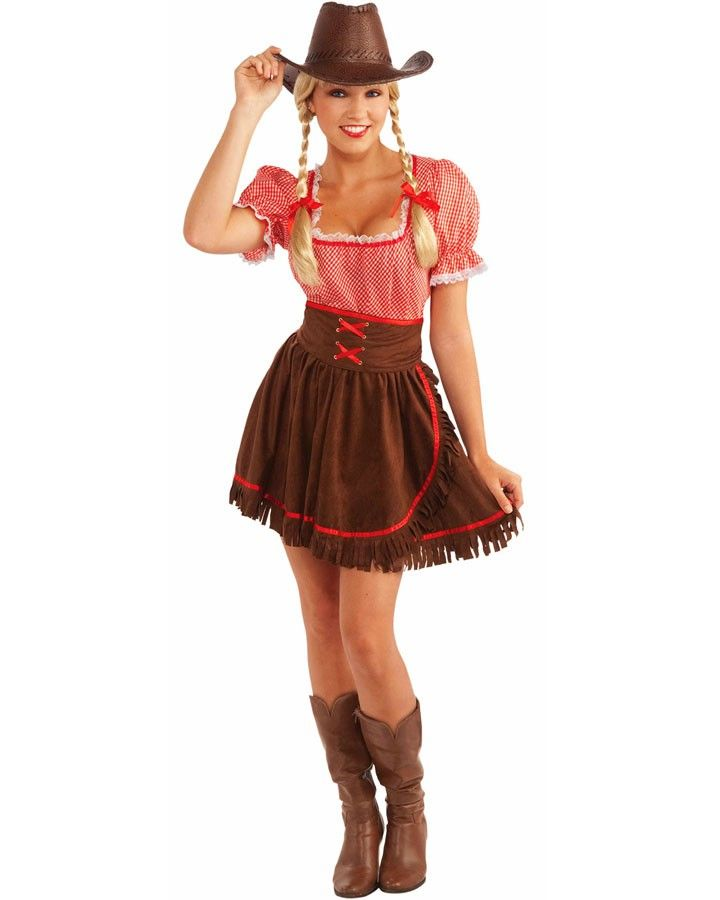 Yee haw!Item IncludesDress. Corset belt.  sc 1 st  Pinterest : cowboy costume for women  - Germanpascual.Com
