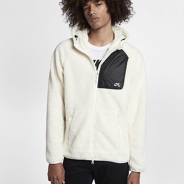 Nike SB Everett Men's Fleece Full-Zip Hoodie | フリース メンズ ...