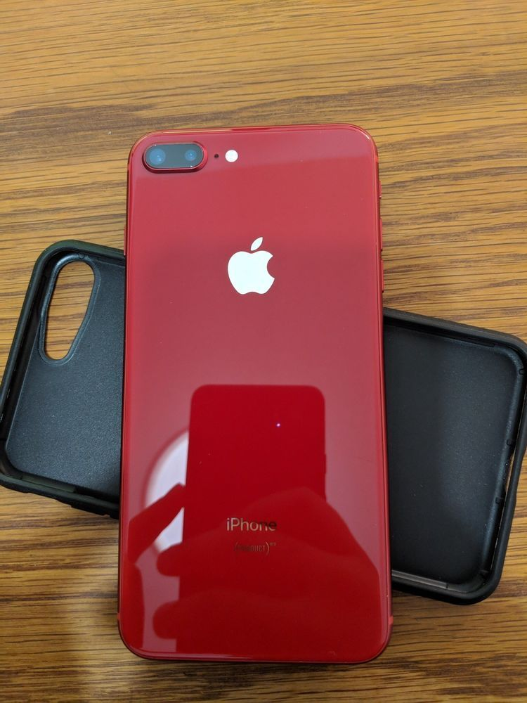 Apple Iphone 8 Plus A1897 64gb Red At T Smartphone Apple Iphone Accessories Iphone Iphone Store