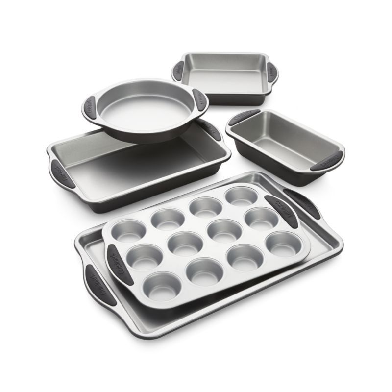 Cuisinart 6 Piece Nonstick Bakeware Set Reviews Crate And