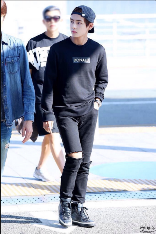 Pin by Alemnesh Williams on Taehyung/V   Bts, Bts airport