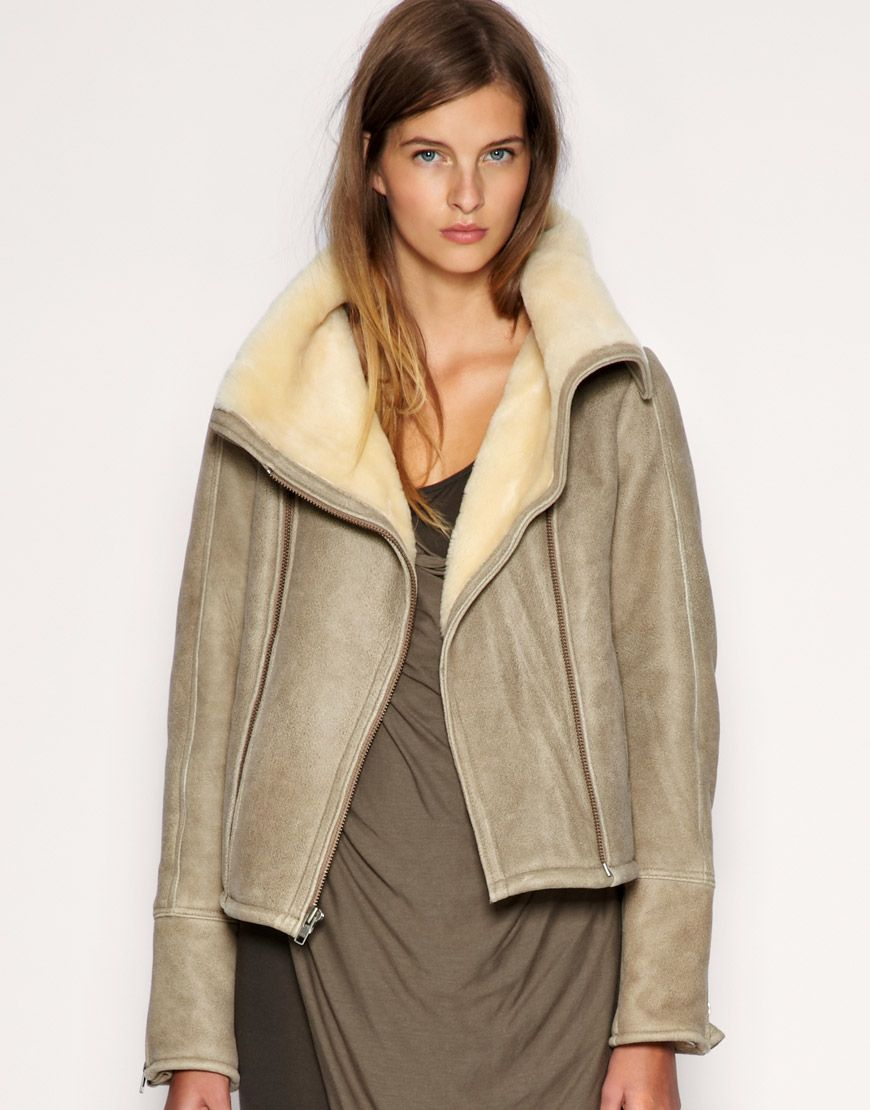 17 Best images about Shearling love on Pinterest | Coats ...