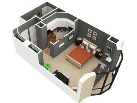 Studio Apartment Floor Plans 3d 440x330-3d-studio-apartment-floor-plan-1183118 (440×330