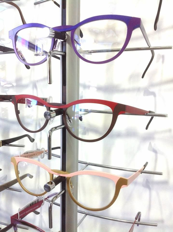 a5ae647c4576 Statement colors of Anne et Valentin eyewear at Risi Optique ...