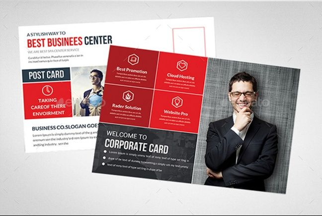 15+ Business Postcard Template PSD, InDesign Format 15+ Business - postcard format template