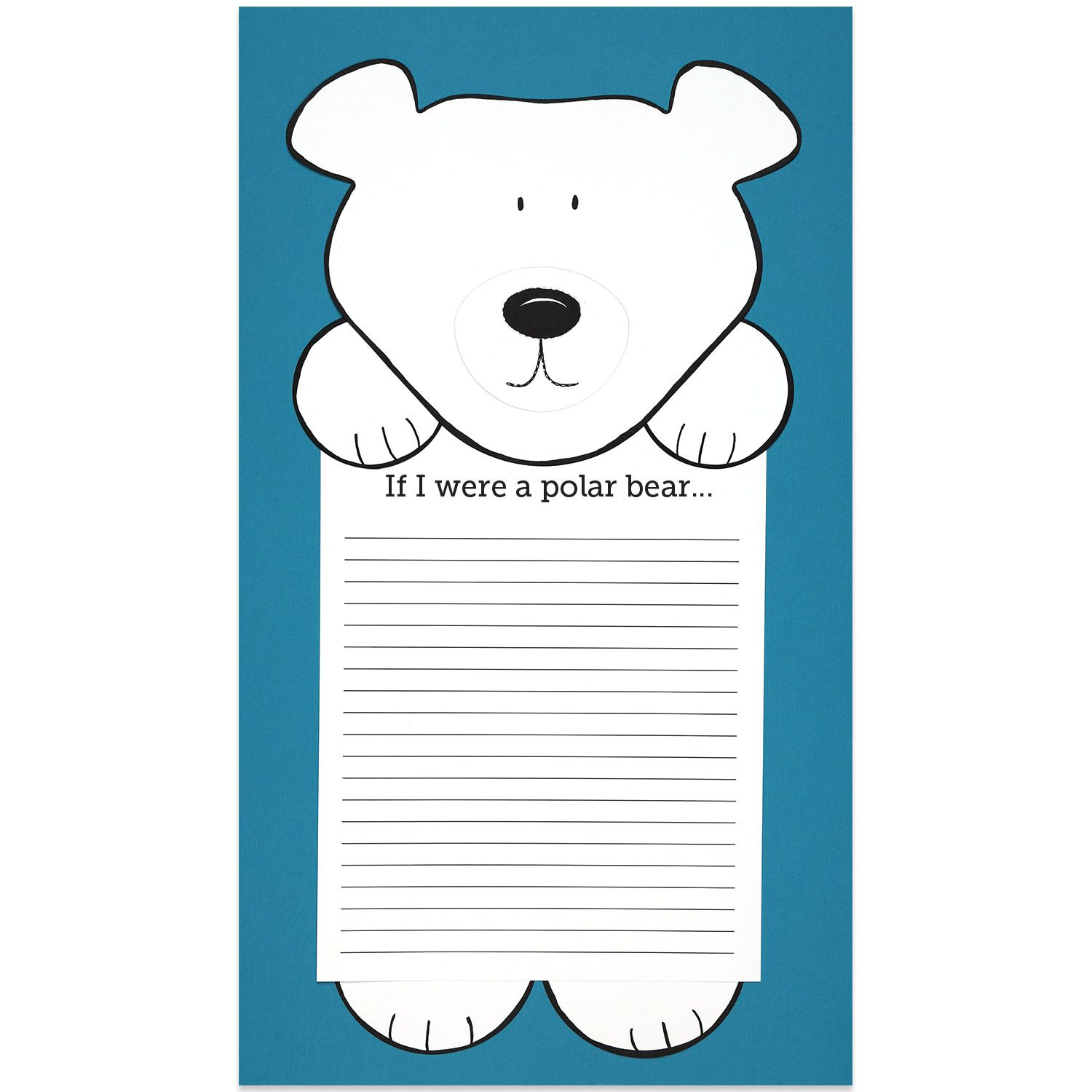 If I Were A Polar Bear Students Winter Writing Activity
