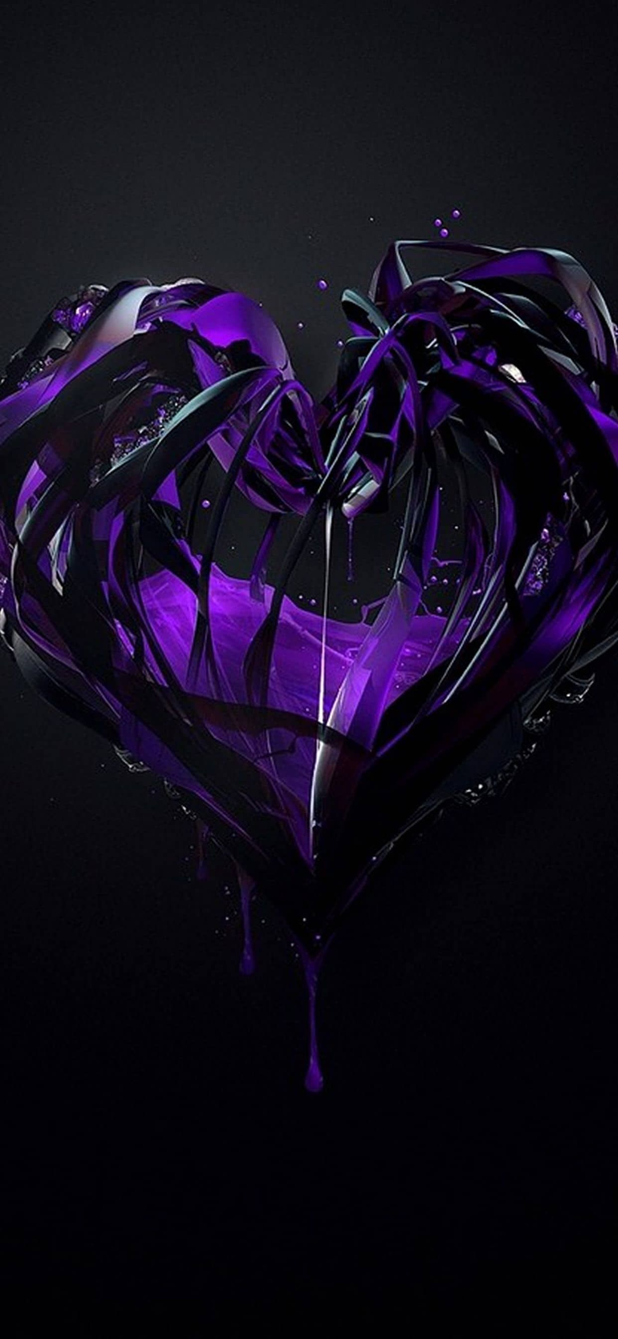 Purple heart 💜 Purple heart, Purple love, Purple rain
