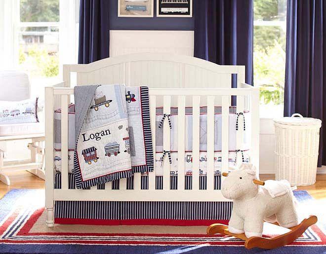 Crib Bumper Boy