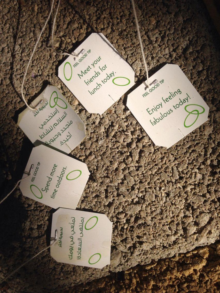 Lipton green tea, with an advice