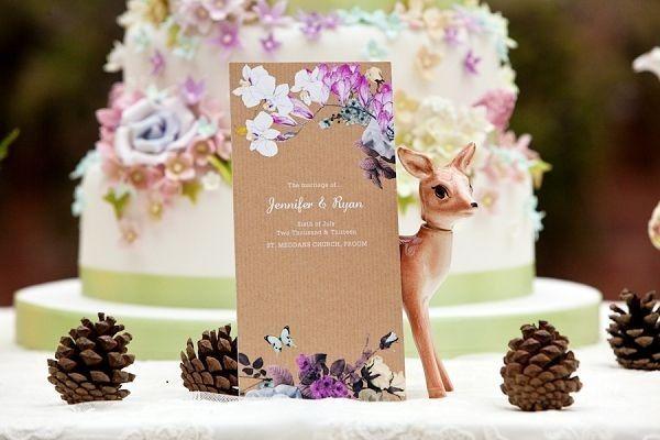 Woodland Wedding Cake Midsummer Night S Dream From Blovedweddings Uk Blog