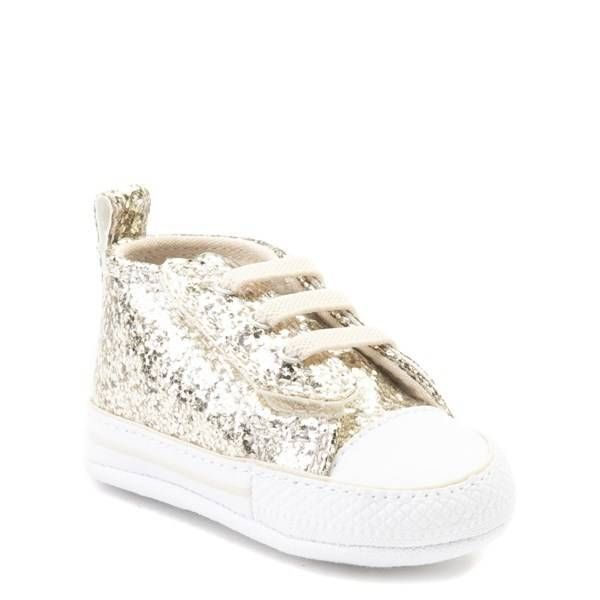 6d7db5a04246 Alternate view of Infant Converse Chuck Taylor First Star Glitter Sneaker