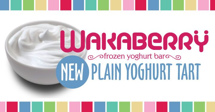 new flavour! plain yoghurt