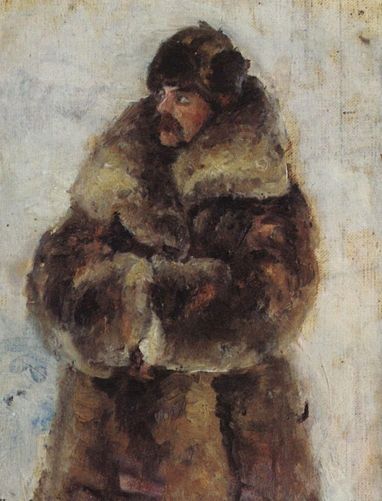 """Taking the snow town"". - Vasily Surikov, 1890"