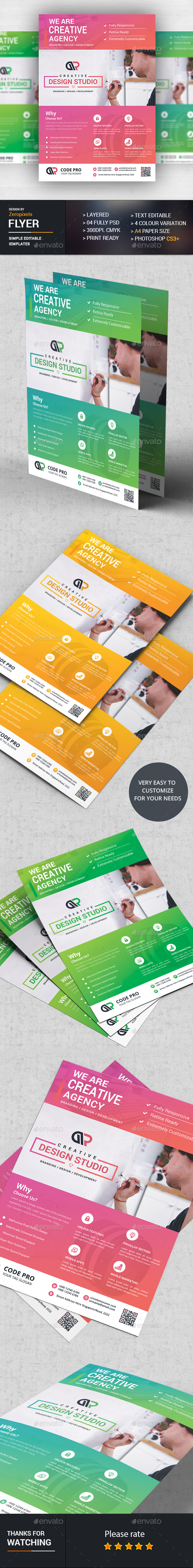 Web Design Flyer Template Psd Download Here HttpGraphicriver