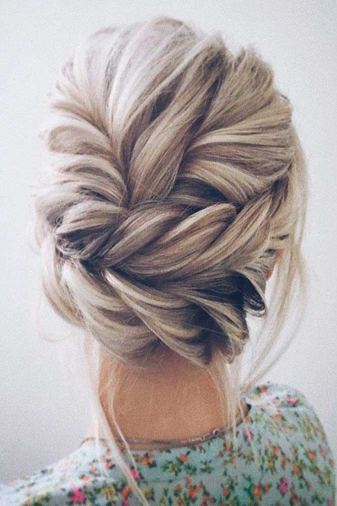 Amazing Updo Hairstyles For Every Special Wedding Moment See More Http
