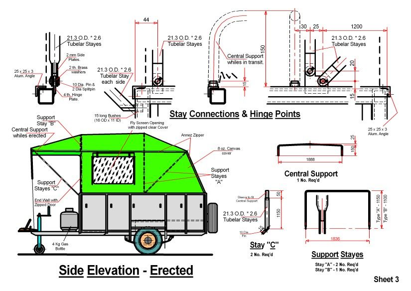 homemade camper van plans diy camper trailer plans homemade camper rh pinterest co uk Travel Trailer Plans Travel Trailer Plans and Patterns