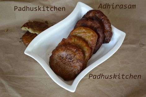 Athirasam Recipe-How to make Adhirasam-Diwali Sweet | Food ...