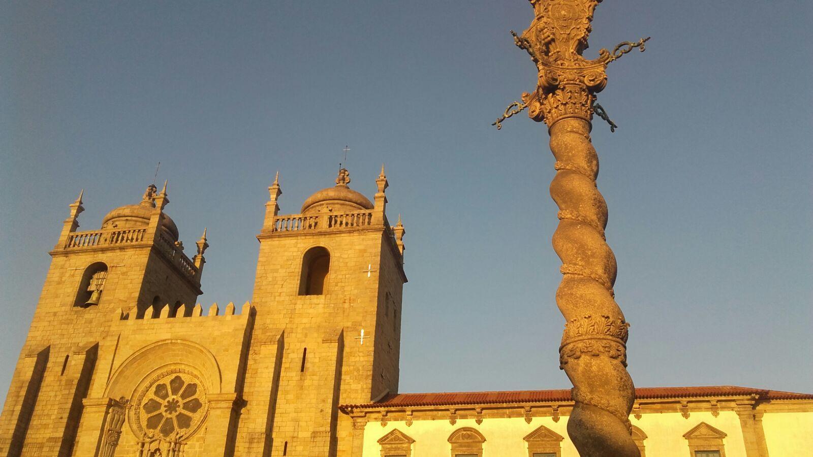 Catedral de Oporto, Portugal, agosto de 2016.