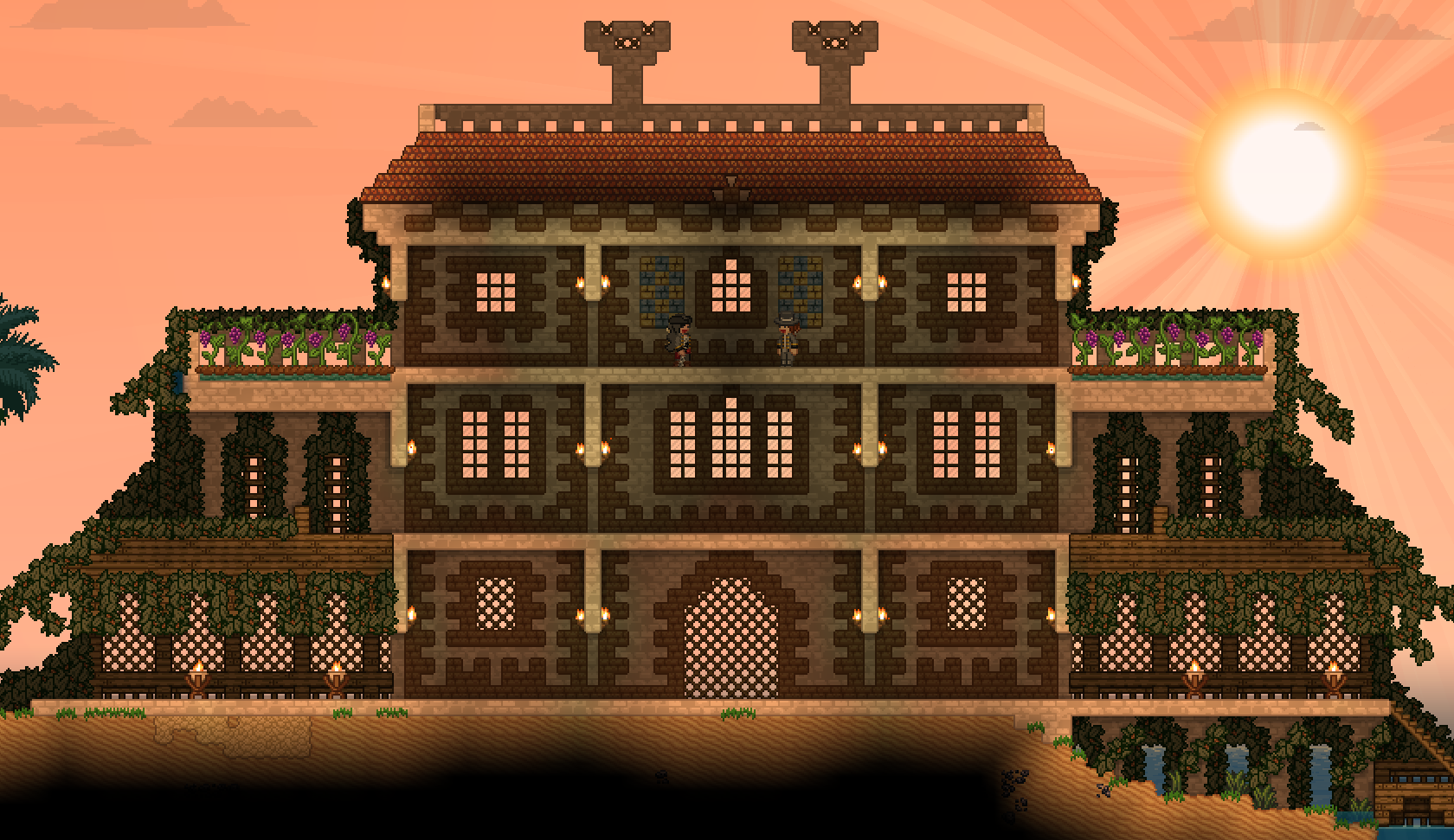Starbound House Building Google Search Terraria