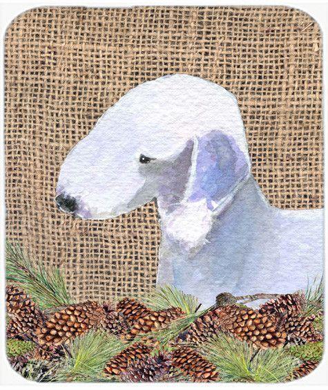 Bedlington Terrier Mouse Pad, Hot Pad or Trivet