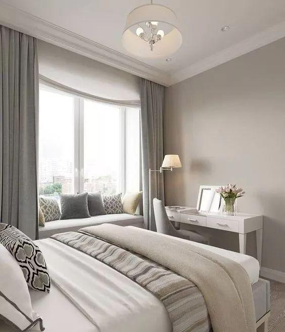 Best 41 Bow Window Simple Elegant Look Romantic Bedroom Wall 400 x 300