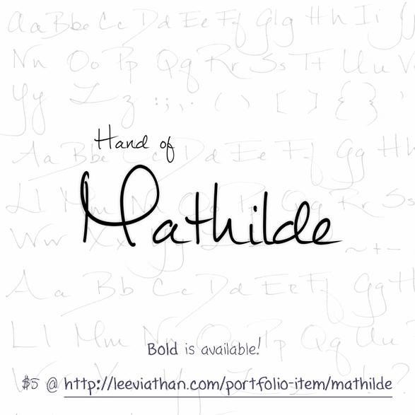 Mathilde Font Leeviathan Fontspace Free Script Fonts Handwritten Script Font Graphic Design Fonts