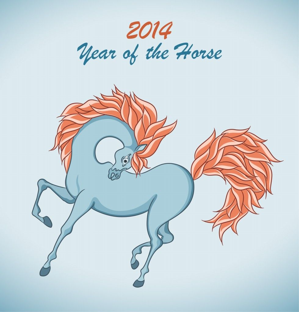 Year Of The Horse Blue Horse Fire horse chinese new year free hd