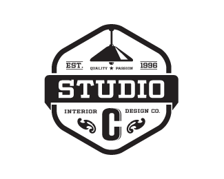 Studio C Interior Design Company By Wiking #logos #logodesign #badges
