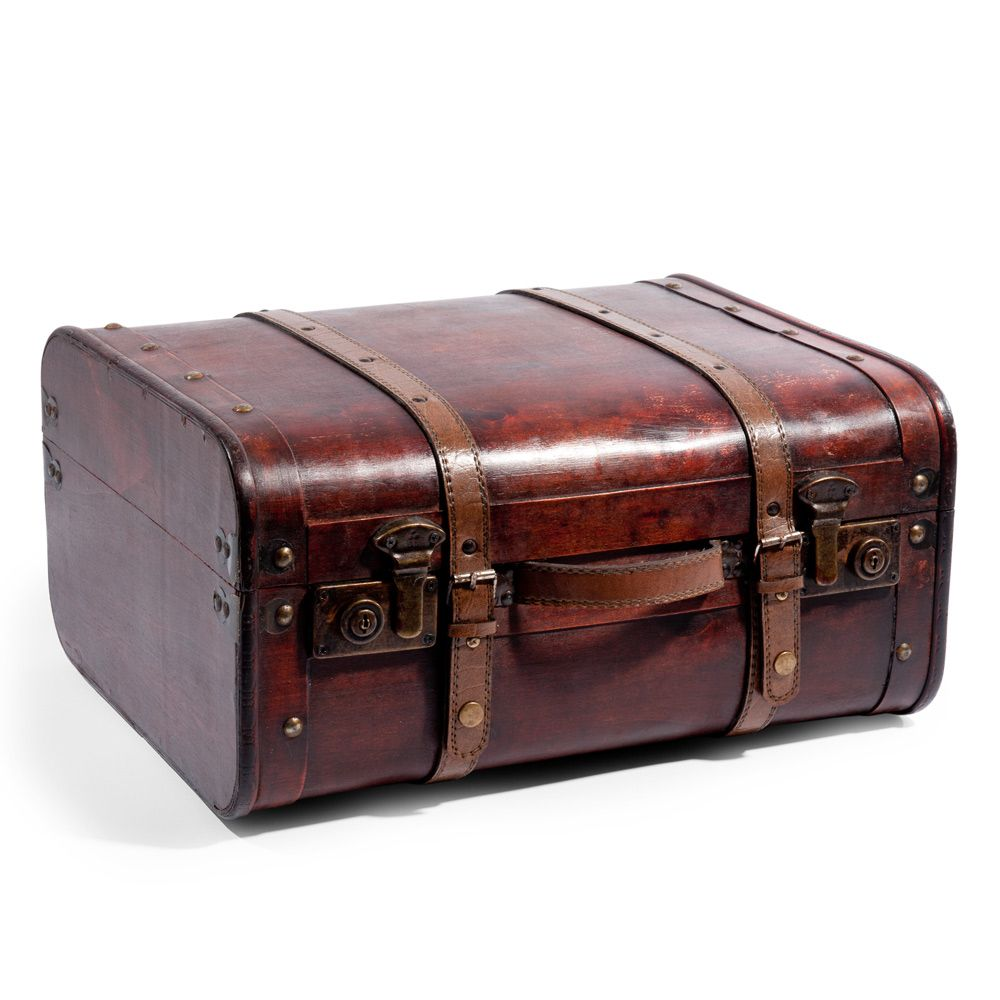 Oude valies groot model