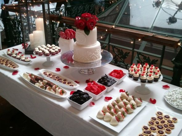 I like the idea of having a cake but also other dessert options sweet wedding dessert bar with which size cake works best on dessert bar weddingbee on wedding galleries junglespirit Choice Image