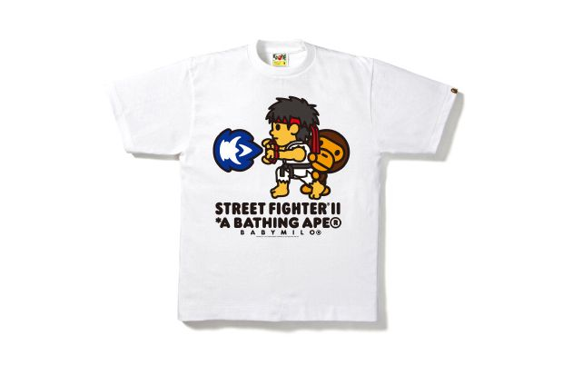 Street Fighter x A Bathing Ape 2012 Capsule Collection #BAPE #Ineedthis #CapCom #Cute #Milo