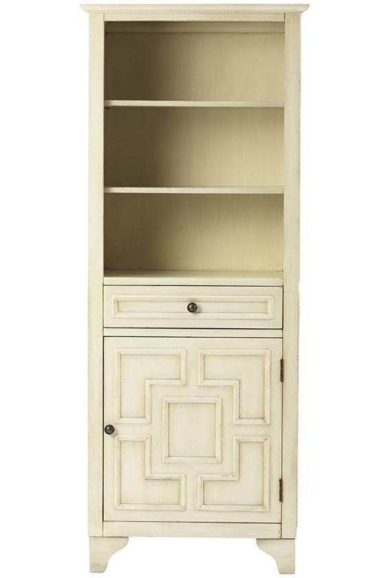 The perfect bathroom addition. This linen cabinet will