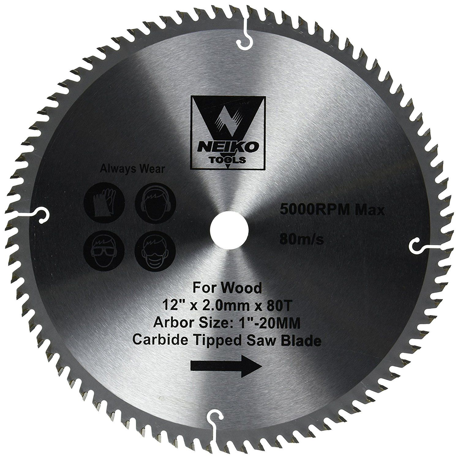 Neiko 10768a 80 T Carbide Saw Blade 12 You Can Get More Details By Clicking On The Image Saw Blade Table Saw Blades Circular Saw Blades