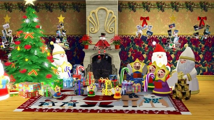 Christmas Decor By Ladesire Sims 3 S Cc Caboodle