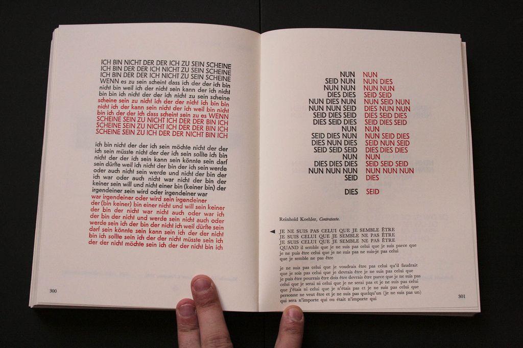 Typoesie Jerome Peignot Design By Massin Typographie Et Jerome